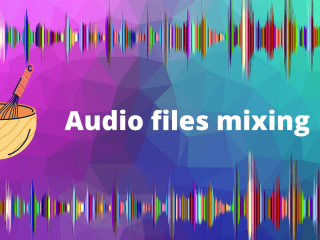 Audio files mixing