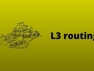 Building a custom network topology with python to demonstrate the L3 routing concept