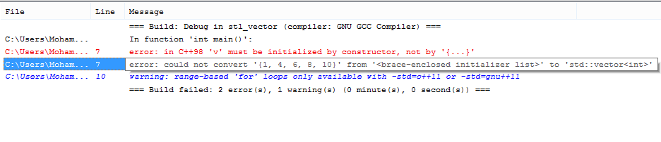 Msvc2013 And New Array Brace Initialization 2
